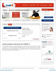 Kreditai iš kredito bendrovių